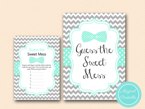 tlc405-sweet-mess-sign-little-man-baby-shower-game-bows