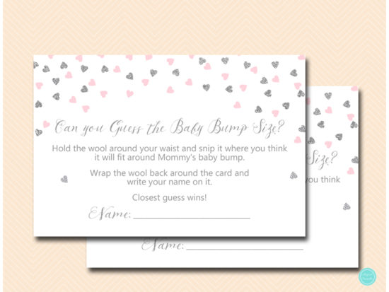 tlc488ps-guess-baby-bump-size-card-pink-silver-baby-shower
