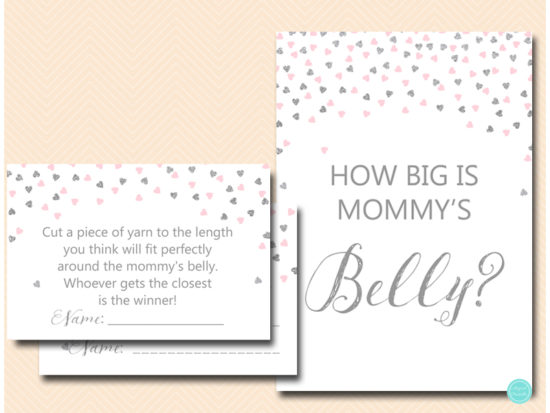 tlc488ps-how-big-is-mommys-belly-sign-pink-silver-baby-shower