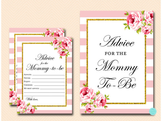 tlc50-advice-for-mommy-sign-pink-gold-baby-shower-game