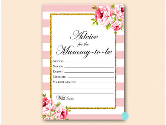 tlc50-advice-for-mummy-card-aust-pink-gold-baby-shower-game