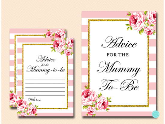 tlc50-advice-for-mummy-sign-pink-gold-baby-shower-game
