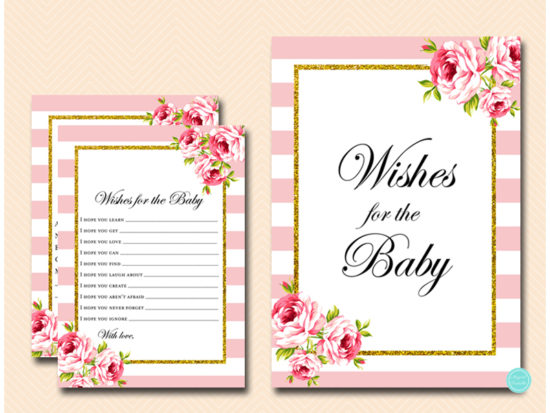 tlc50-wishes-for-baby-sign-pink-gold-baby-shower-game