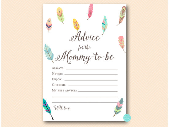 tlc60-advice-mommy-card-feathers-baby-shower-game