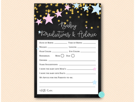 zz09-prediction-and-advice-twinkle-little-stars-gender-reveal-game