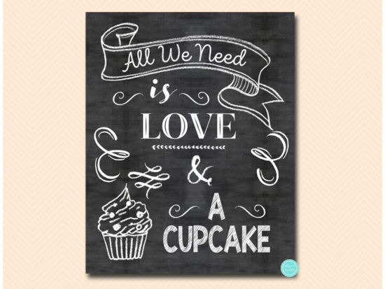 all-you-need-is-love-and-a-cupcake-sign-chalkboard