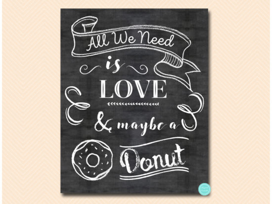 all-you-need-is-love-and-a-donut-sign-chalkboard