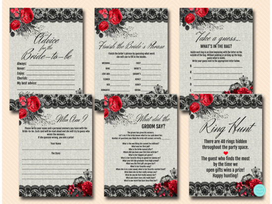 red-black-gothic-lace-bridal-shower-games-bachelorette