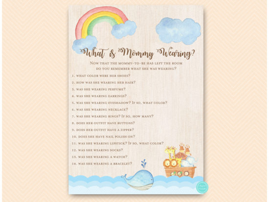tlc631t-what-is-mommy-wearing-twins-noahs-ark-baby-shower-game