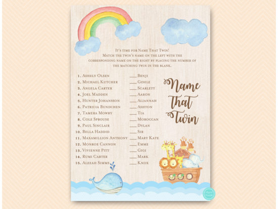 tlc631tw-name-that-twin-twins-noahs-ark-baby-shower-game
