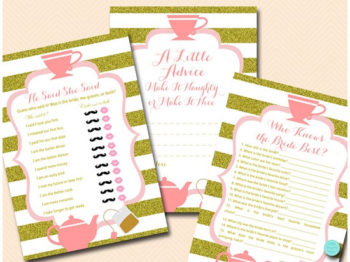 tea-party-bridal-shower-games-pink-and-gold-1