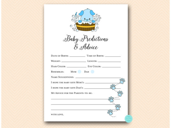 tlc633-b-advice-and-predictions-blue-boy-puppy-baby-shower-game