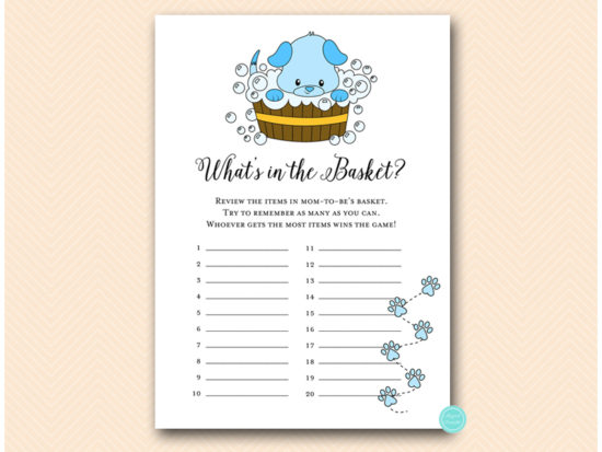 tlc633-b-whats-in-the-basket-blue-boy-puppy-baby-shower-game