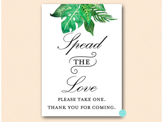sn641-spread-the-love-please-take-one-tropical-jungle-sign