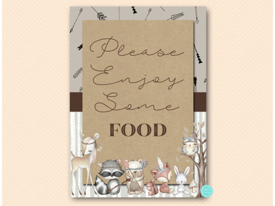 sn645-sign-food-boho-woodland-table-signs-decoration-rustic
