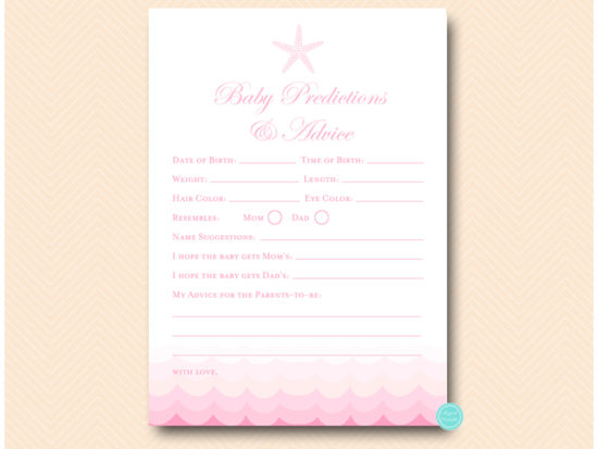 tlc09p-prediction-advice-for-baby-card-pink-beach-under-sea-baby-shower-games