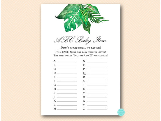 tlc641-abc-baby-items-tropical-jungle-baby-shower-game