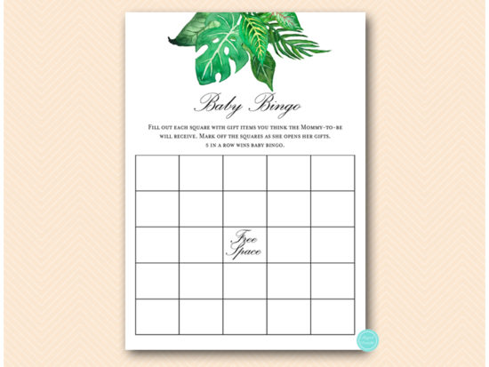 tlc641-bingo-baby-tropical-jungle-baby-shower-game