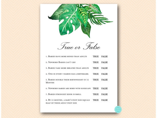 tlc641-true-or-false-quiz-tropical-jungle-baby-shower-game