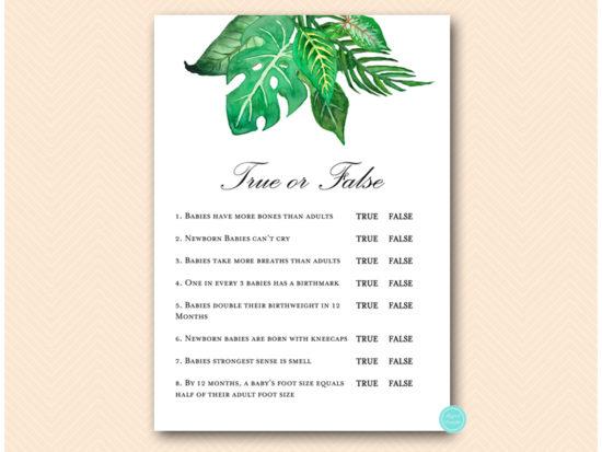 tlc641-true-or-false-quiz-tropical-jungle-baby-shower-game
