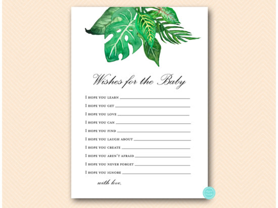 tlc641-wishes-for-baby-card-tropical-jungle-baby-shower-game