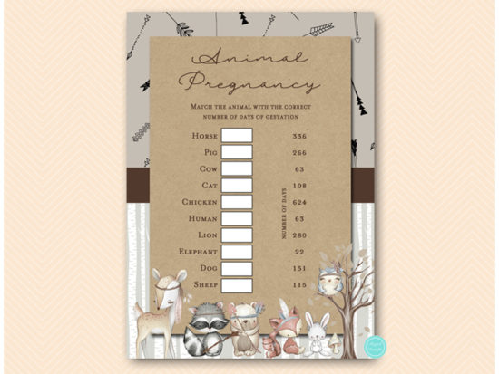 tlc645-animal-pregnancy-gestation-game-rustic-woodland-baby-shower-games