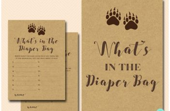 whats-in-diaper-bag-sign-mama-bear-baby-shower-games