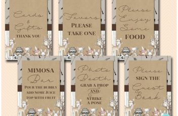 rustic-boho-woodland-party-decoration-table-signs-baby-shower-download