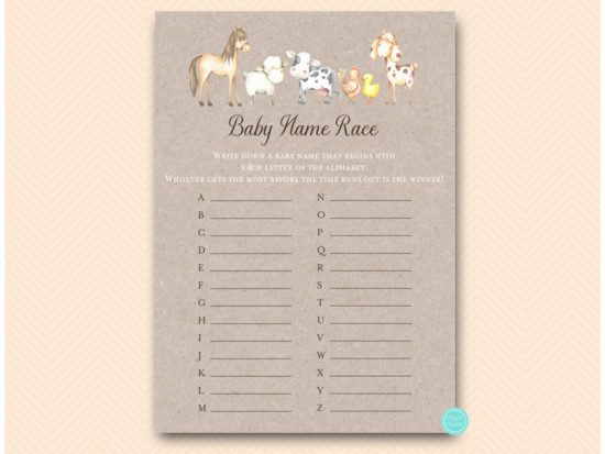 tlc644-baby-name-race-farm-animals-baby-shower-game