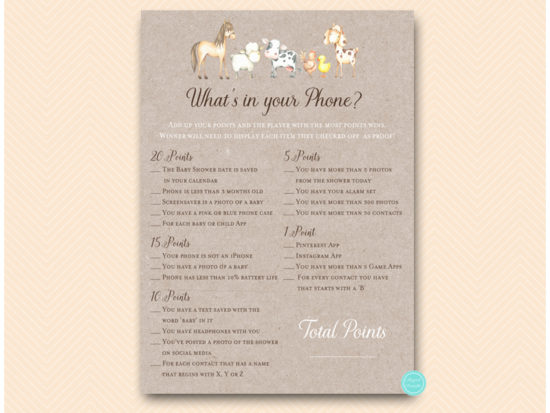 tlc644-whats-in-your-phone-country-baby-shower-game