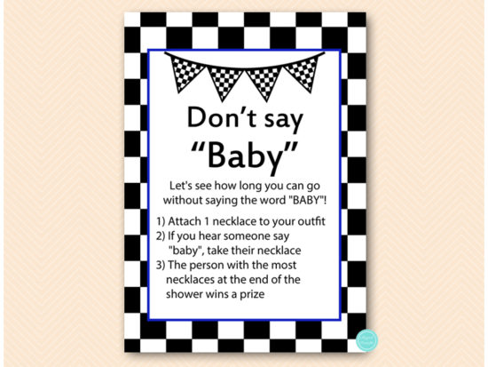 tlc113n-dont-say-baby-necklace-blue-racing-car-baby-shower