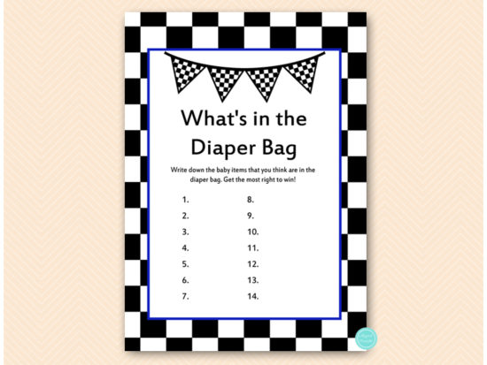 tlc113n-whats-in-the-diaper-blue-racing-car-baby-shower