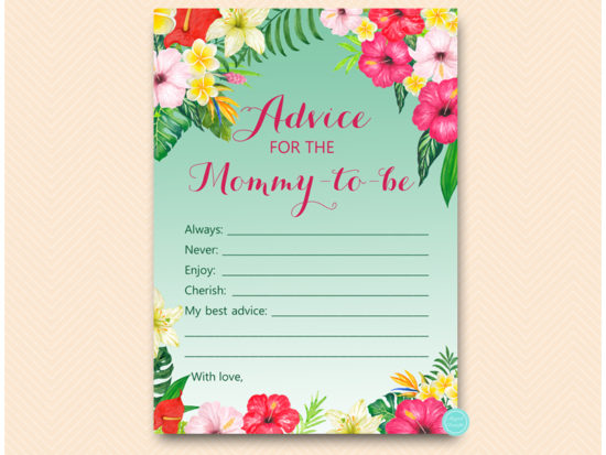 tlc650-advice-for-mommy-card-luau-baby-shower