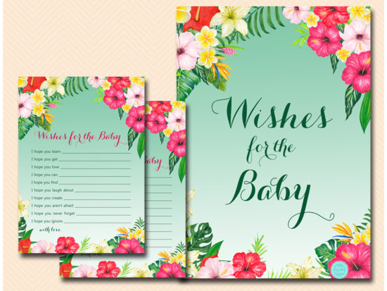 tlc650-wishes-for-baby-sign-flamingo-baby-shower