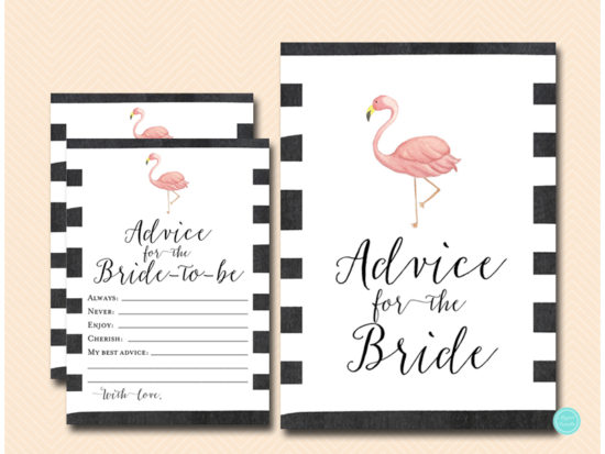 bs651-advice-for-bride-sign-flamingo-bridal-shower