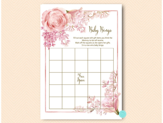 tlc635-bingo-baby-pink-flower-girl-baby-shower