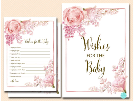 tlc635-wishes-for-baby-sign-pink-flower-girl-baby-shower