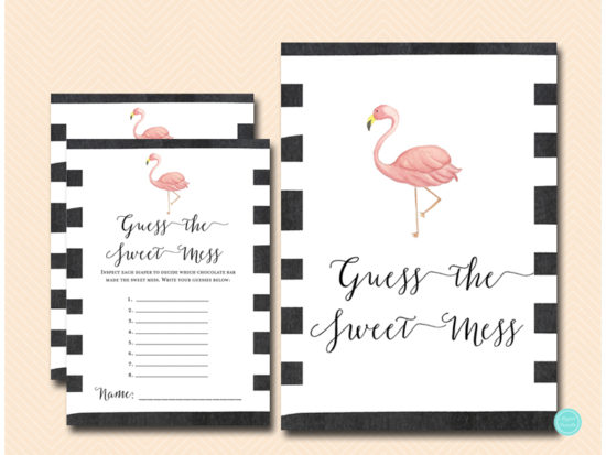 tlc651-sweet-mess-guessing-sign-5x7-flamingo-baby-shower