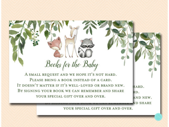 tlc653-books-for-baby-insert-leafy-woodland-baby-shower-game
