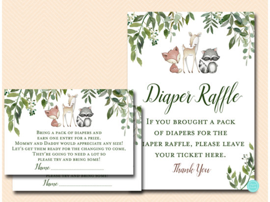 tlc653-diaper-raffle-sign-greenery-woodland-animals-baby-shower-game
