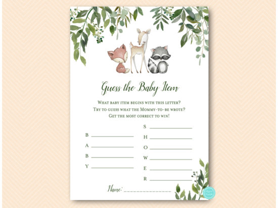 tlc653-guess-baby-itemb-what-mommy-wrote-greenery-woodland-animals-baby-shower-game