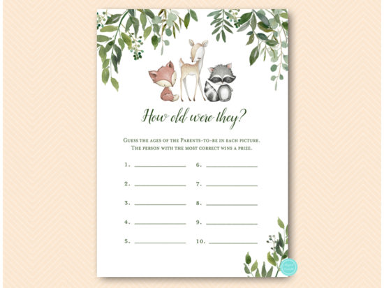 tlc653-how-old-were-they-parents-greenery-woodland-animals-baby-shower-game