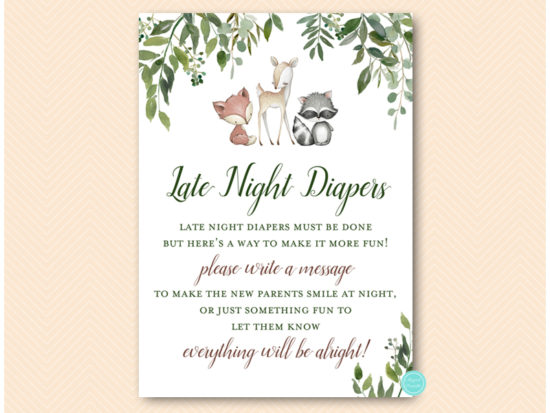 tlc653-late-night-diapers-sign-greenery-woodland-animals-baby-shower-game
