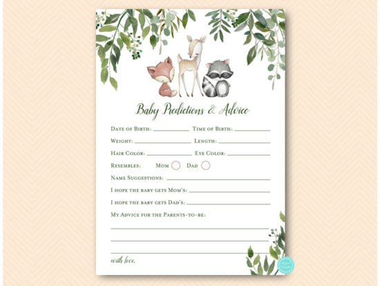 tlc653-predictions-and-advice-greenery-woodland-animals-baby-shower-game