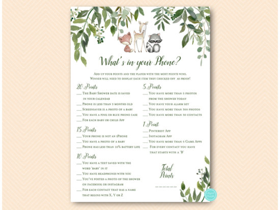 tlc653-whats-in-your-phone-baby-greenery-woodland-animals-baby-shower-game