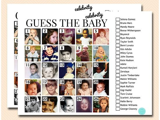 Guess the celebrity baby names