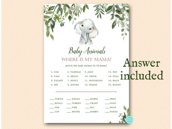 tlc663-animal-baby-where-is-mama-greenery-elephant-baby-shower-game