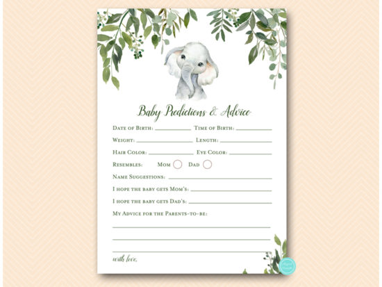 tlc663-baby-prediction-and-advice-greenery-elephant-baby-shower-game