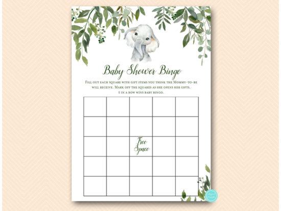 tlc663-bingo-baby-shower-greenery-elephant-baby-shower-game