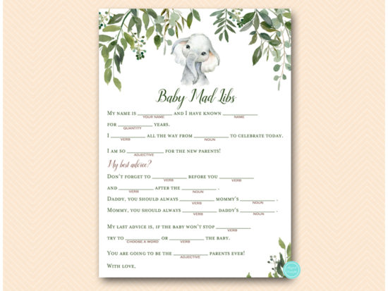 tlc663-mad-libs-baby-safari-elephant-baby-shower-game